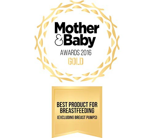 2016 Gold Winner For Best Product For Breastfeeding By Mother and Baby