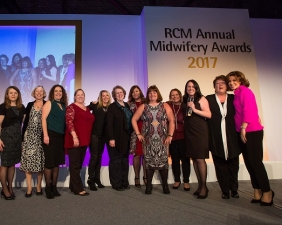 RCM Annual Midwifery Awards 2017