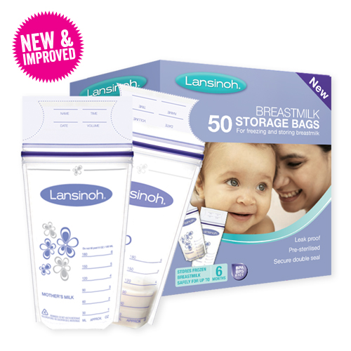 New Lansinoh breastmilk storage bags
